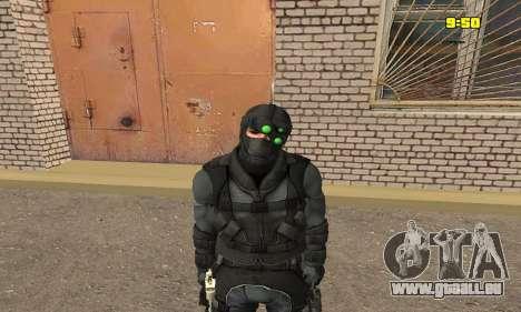 Archer aus dem Spiel Splinter Cell Conviction für GTA San Andreas