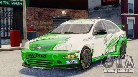 Chevrolet Lacetti pour GTA 4 est un côté