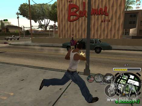 C-HUD Andy Cardozo für GTA San Andreas her Screenshot