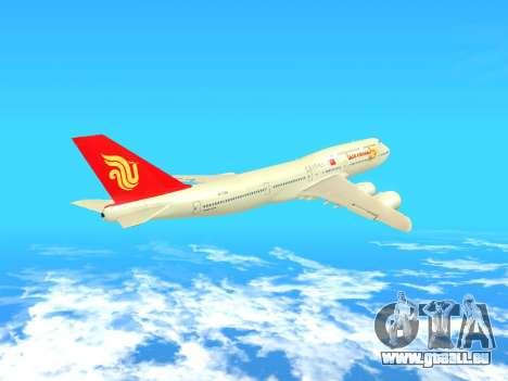 Boeing 747 Air China pour GTA San Andreas vue intérieure
