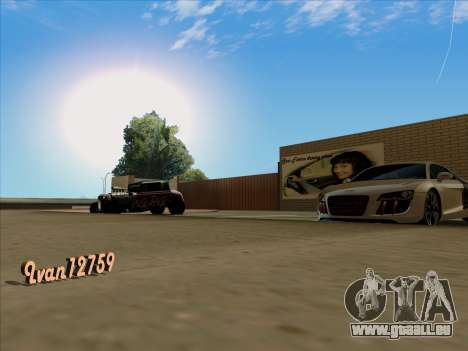 Mise à jour des textures à l'école de conduite pour GTA San Andreas