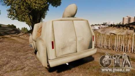 Van-ignorants- pour GTA 4 Vue arrière de la gauche