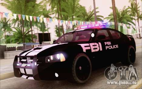 Dodge Charger SRT8 FBI Police für GTA San Andreas