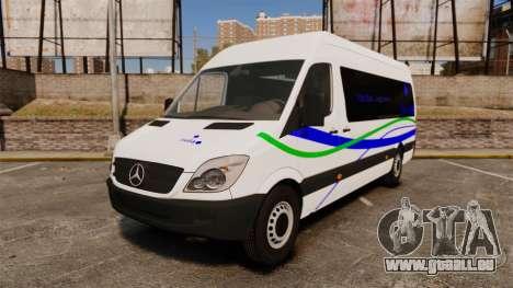 Mercedes-Benz Sprinter Itella Logistics für GTA 4