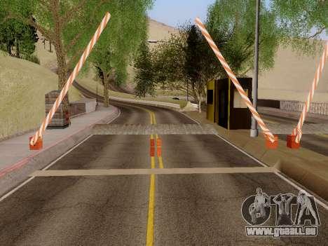 Zoll-SF-LV für GTA San Andreas