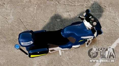BMW R1150RT Gendarmerie [ELS] pour GTA 4 est un droit