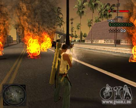 C-HUD Lite v2.0 für GTA San Andreas her Screenshot