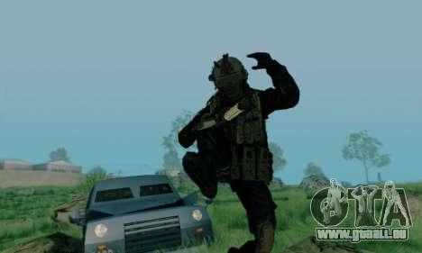 Kopassus Skin 3 für GTA San Andreas her Screenshot