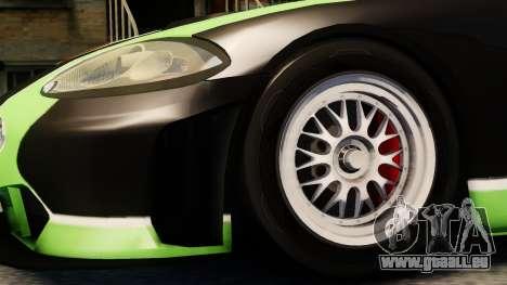 Jaguar XKR GT pour GTA 4 est un droit