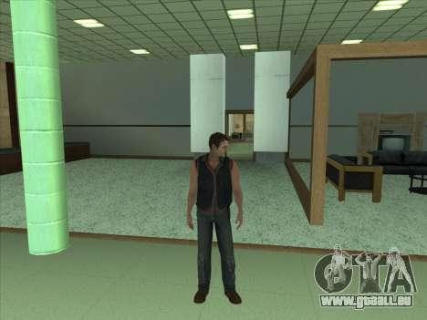 Daryl Dixon pour GTA San Andreas troisième écran
