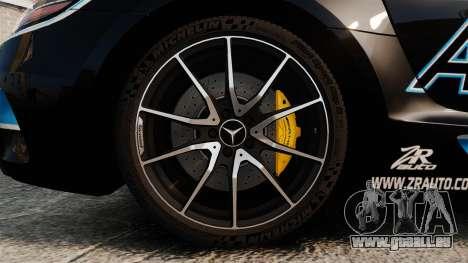 Mercedes-Benz SLS 2014 AMG Black Series Area 27 pour GTA 4 Vue arrière