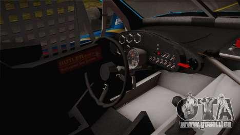 Dodge Charger NASCAR Sprint Cup 2012 pour GTA San Andreas sur la vue arrière gauche