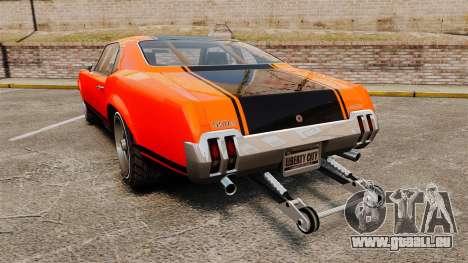 Declasse SabreGT new wheels pour GTA 4 Vue arrière de la gauche