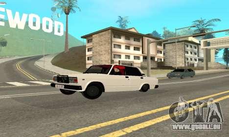 VAZ 2107 Avtosh pour GTA San Andreas
