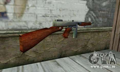 Thompson M1 für GTA San Andreas zweiten Screenshot