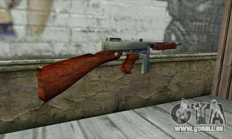Thompson M1 pour GTA San Andreas deuxième écran