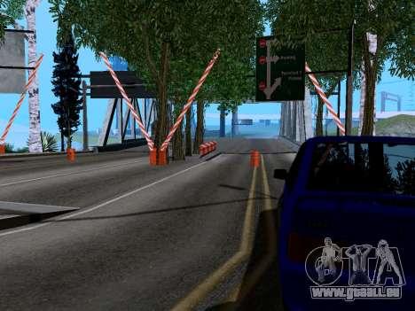 La douane de Los Santos, San Fierro v2.0 pour GTA San Andreas deuxième écran
