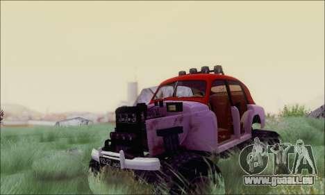 GAZ M20 Monstre pour GTA San Andreas vue arrière