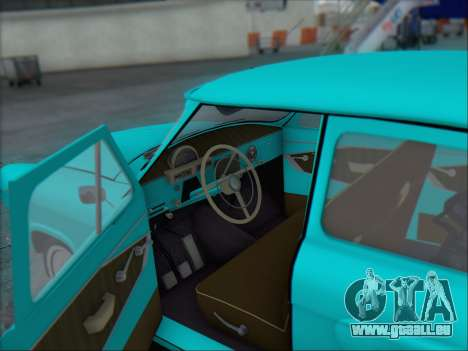 GAZ 21 für GTA San Andreas obere Ansicht