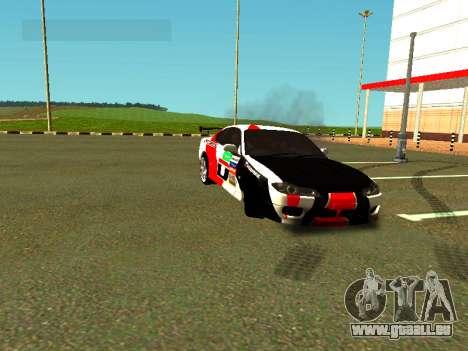 Nissan Silvia S15 Team Dragtimes pour GTA San Andreas vue de côté