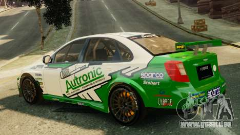 Chevrolet Lacetti pour GTA 4 est une gauche