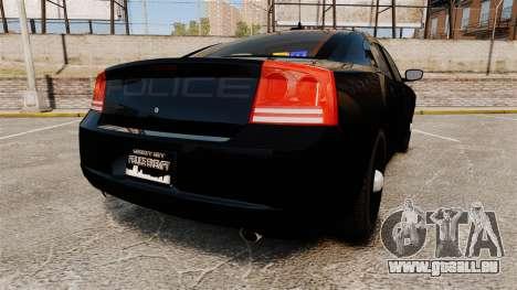 Dodge Charger Slicktop Police [ELS] für GTA 4 hinten links Ansicht