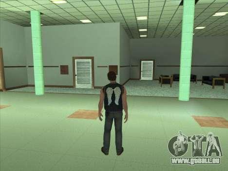 Daryl Dixon pour GTA San Andreas deuxième écran