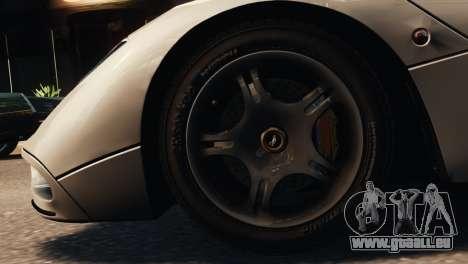 McLaren F1 XP5 für GTA 4 hinten links Ansicht