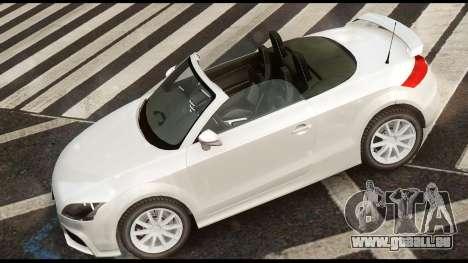 Audi TT RS v1.0 pour GTA 4 Vue arrière de la gauche