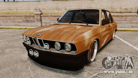 BMW 535is E28 Sharkie pour GTA 4