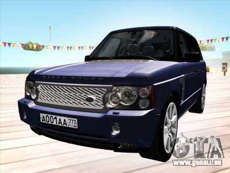 Land Rover Supercharged Stock 2010 V2.0 für GTA San Andreas linke Ansicht