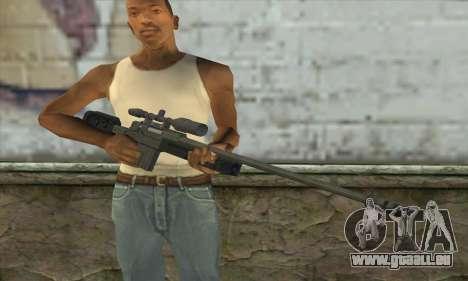 GTA V Sniper rifle für GTA San Andreas dritten Screenshot