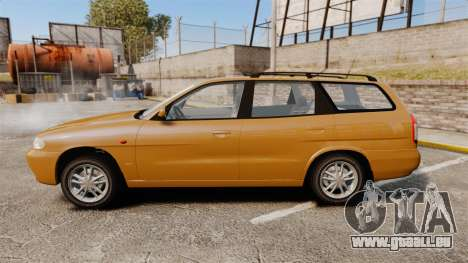 Daewoo Nubira I Wagon CDX PL 1998 für GTA 4 linke Ansicht