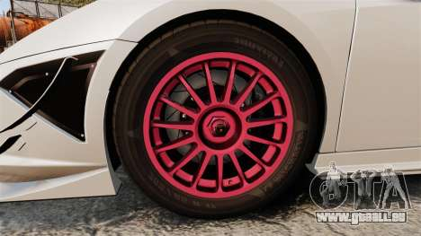 Lamborghini Gallardo LP570-4 Super Trofeo pour GTA 4 Vue arrière