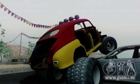 GAZ M20 Monstre pour GTA San Andreas vue intérieure