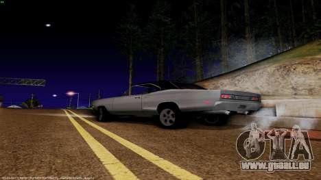 Dodge Coronet RT 1969 440 Six-pack pour GTA San Andreas laissé vue