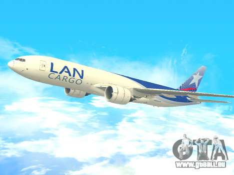 Boeing 777 LAN Cargo für GTA San Andreas