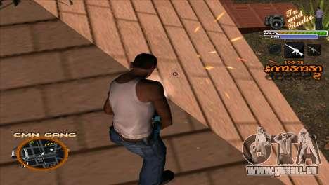 C-HUD-TV-Center für GTA San Andreas her Screenshot