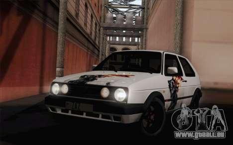 Volkswagen Golf 2 pour GTA San Andreas