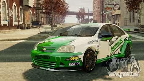 Chevrolet Lacetti pour GTA 4