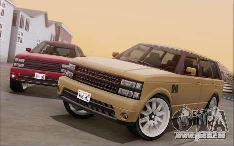Gallivanter Baller из GTA V pour GTA San Andreas