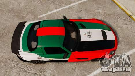 Mercedes-Benz SLS 2014 AMG UAE Theme pour GTA 4 est un droit