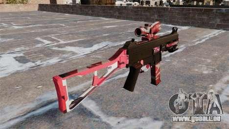 Le pistolet mitrailleur, UMP45 pour GTA 4 secondes d'écran