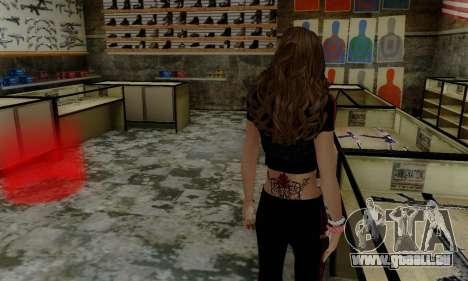 Carlita pour GTA San Andreas troisième écran