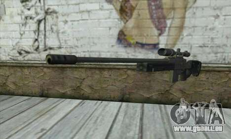 GTA V Sniper rifle pour GTA San Andreas