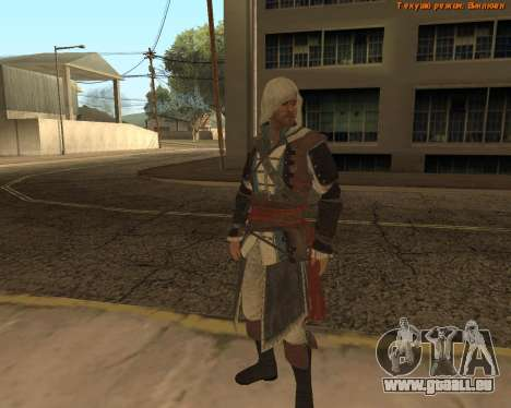 Assassin Edward pour GTA San Andreas