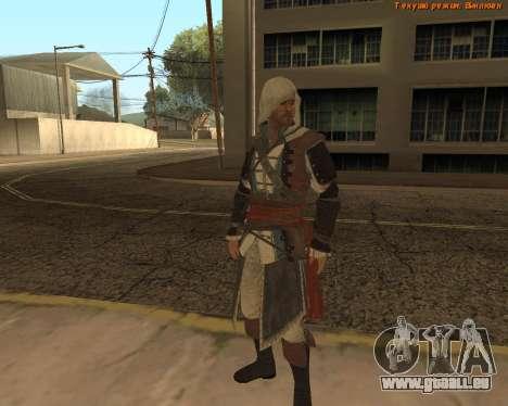 Assassin Edward pour GTA San Andreas
