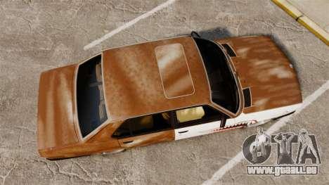 BMW 535is E28 Sharkie pour GTA 4 est un droit