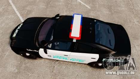 Dodge Charger 2011 Liberty Clinic Police [ELS] für GTA 4 rechte Ansicht