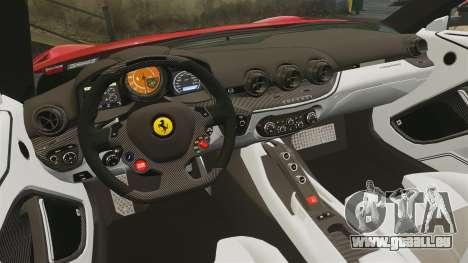 Ferrari F12 Berlinetta 2013 [EPM] Deaths-head pour GTA 4 est un côté